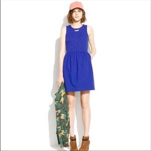 Madewell Royal Blue Afternoon Sleeveless Dress